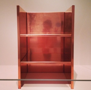 Danielle likes to reflect on this Donald Judd piece.