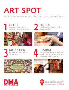 Art Spot Spanish Prompt 2015