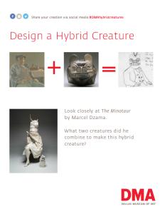 Hybrid Creatures Prompt English