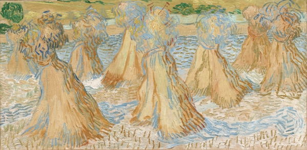 Vincent Van Gogh, Sheaves of Wheat, July 1890, Dallas Museum of Art, The Wendy and Emery Reves Collection
