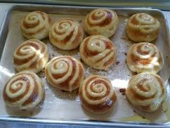 Creamy Custard buns