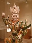 Detail of Lokapala (Heavenly Guardian), China, early 8thcentury