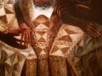 Detail of Starry Crown, John Biggers,1987