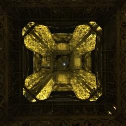Underside of Le Tour Eiffel.