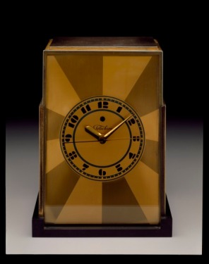 """Telechron"" Mantel Clock, designed c. 1928 by Paul Frankl, manufactured by Warren Electric Company, 1994.8"