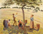 03-Camille-Pissarro-Apple-Picking-at-Eragny-sur-Epte-1888-painting-artwork-print