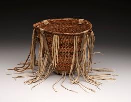 Burden Basket, Apache peoples, c. 1880, Dallas Museum of Art, gift of Lillian Butler Davey.