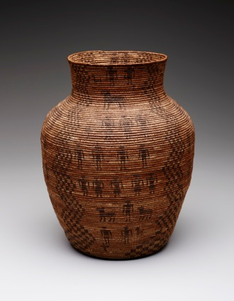 Storage Basket, Apache peoples, c. 1880, Dallas Museum of Art, gift of Lillian Butler Davey.