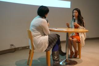 Shelley interviewing Jierui
