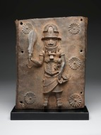 Plaque with single figure, 16th–17th century, Benin, Dallas Museum of Art, The Eugene and Margaret McDermott Art Fund, Inc.
