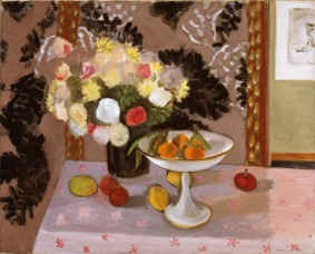 Still Life: Bouquet with Compotier, Henri Matisse, 1924, Dallas Museum of Art, The Eugene and Margaret McDermott Art Fund, Inc., in honor of Dr. Bryan Williams.