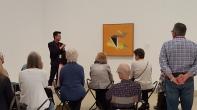 Nolan giving his gallery talk