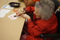 Meaningful Moments Care Facility visit at the DMA