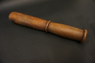 Wooden mallet: used with carving tools to chisel away large areas on the woodblock.