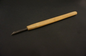 Choko to: knife used for carving the wood blocks.