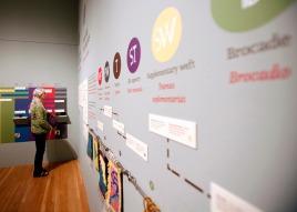 Bilingual text in the 2015 Inca exhibition.