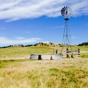 Windmill well in Nebraska
