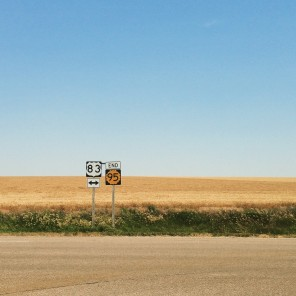 Road signs, Kansas