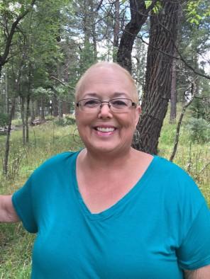 Deborah out in nature
