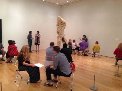 Educator Exchange at the Nasher Sculpture Center.