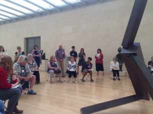 Group discussion at the Nasher.