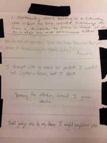 Collaborative poem inspired by Yayoi Kusama.