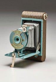 "Walter Dorwin Teague, ""Kodak petite"" camera, designed 1927, Dallas Museum of Art, gift of David T. Owsley."