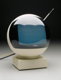 """""""JVC Videosphere"""" television, Victor Company of Japan, designed 1972, Dallas Museum of Art, 20th-Century Design Fund"""