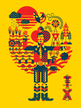 Official 2016 State Fair of Texas poster, image from http://bigtex.com/2016theme/