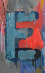 Detail of Device, 1961-1962, Jasper Johns, Dallas Museum of Art, gift of The Art Museum League, Margaret J. and George V. Charlton, Mr. and Mrs. James B. Francis, Dr. and Mrs. Ralph Greenlee, Jr., Mr. and Mrs. James H. W. Jacks, Mr. and Mrs. Irvin L. Levy, Mrs. John W. O'Boyle, and Dr. Joanne Stroud in honor of Mrs. Eugene McDermott