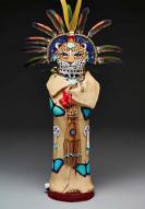 Kathie Lostetter, Figure of Jaguar Goddess, 2016, lent by Anne Bromberg