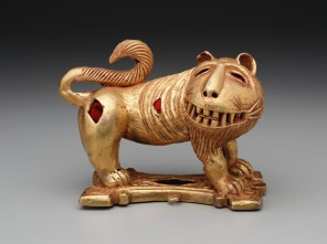 Sword ornament in the form of a lion, mid-20th century, Dallas Museum of Art, The Eugene and Margaret McDermott Art Fund, Inc.