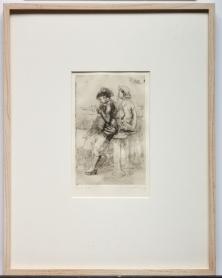 Isabel Bishop, Snack Bar, 1959, Dallas Museum of Art, Johnette Atkins Walp Memorial Fund