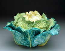 """""""Cabbage"""" tureen and cover, sceaux factory (French, Born 1748), c. 1755"""
