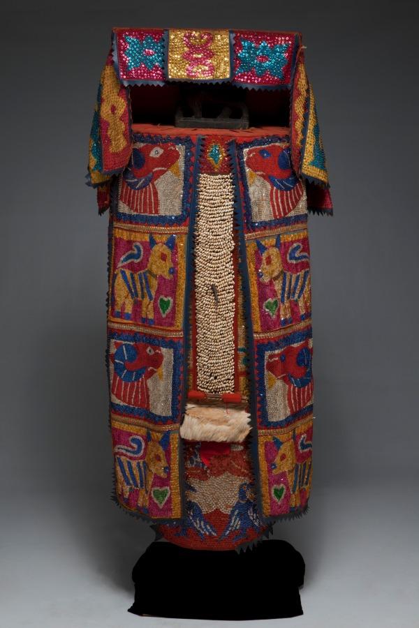 Egungun costume, Republic of Benin, Yoruba peoples, Late 20th century, Dallas Museum of Art, gift of Pace Primitive Gallery, New York