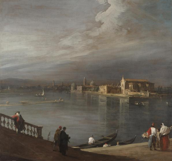 Canaletto, San Cristoforo, San Michele, and Murano from the Fondamenta Nuove, Venice, 1722–1723, Dallas Museum of Art, Foundation for the Arts Collection, Mrs. John B. O'Hara Fund