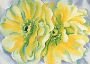 Georgia O'Keefe, Yellow Cactus, 1929, Dallas Museum of Art, the Patsy Lacy Griffith Collection, bequest of Patsy Lacy Griffith