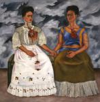 Frida Kahlo_The Two Fridas (Las dosFridas)
