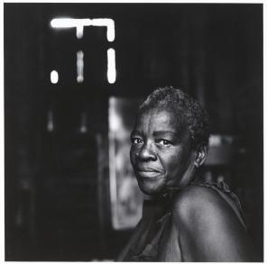 Debbie Fleming Caffery, Looking at Me (Polly), 1984, Gelatin Silver Print, Jackson, Walker, Winstead, Cantwell & Miller Fund